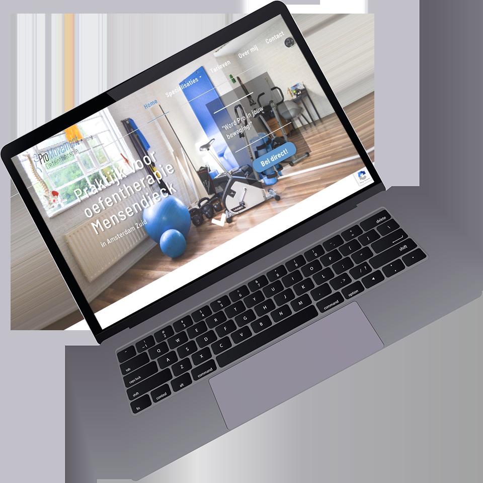 Portfolio item website voor Promovement